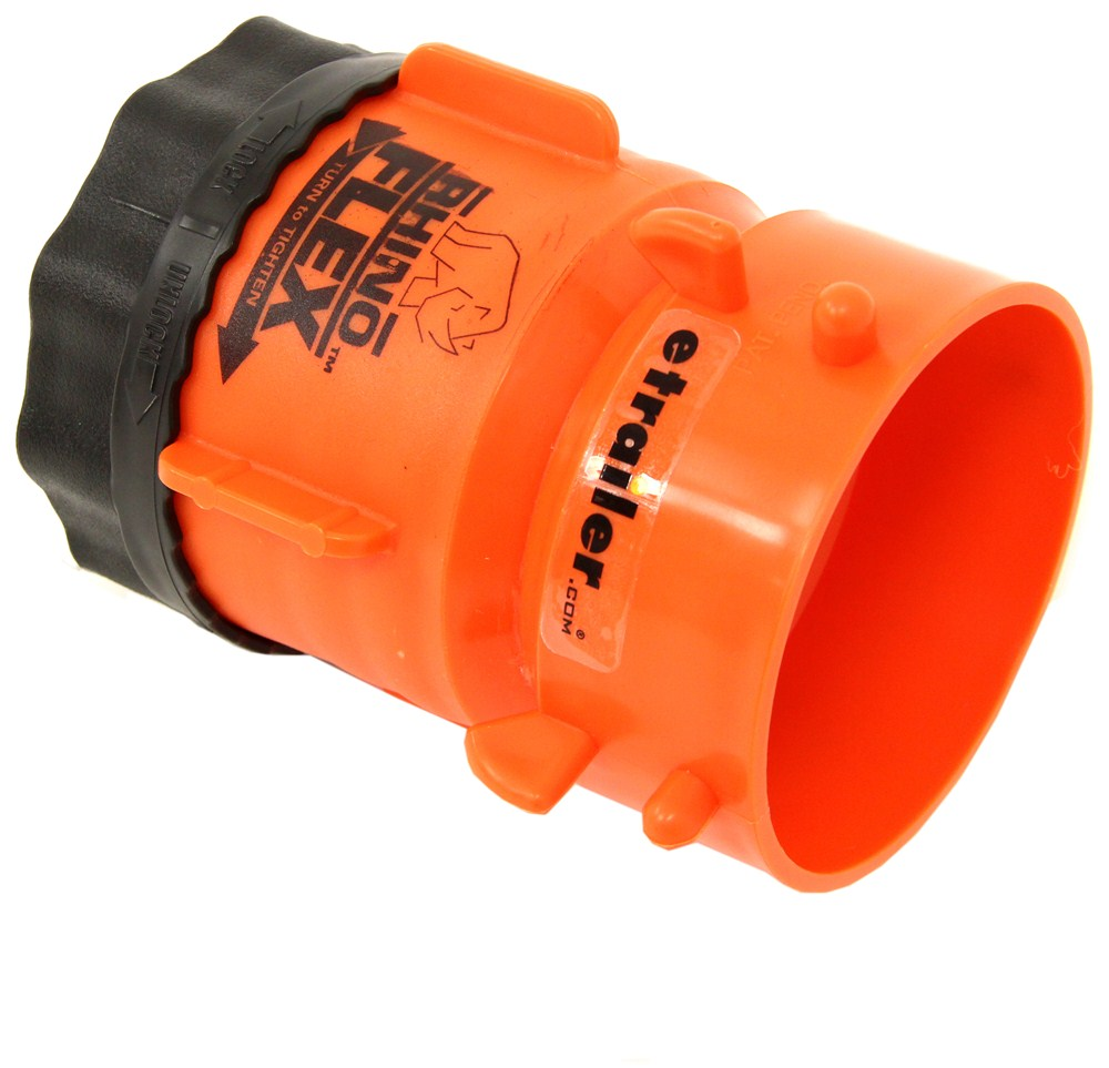 Rhinoflex rv sewer hose swivel lug fitting camco