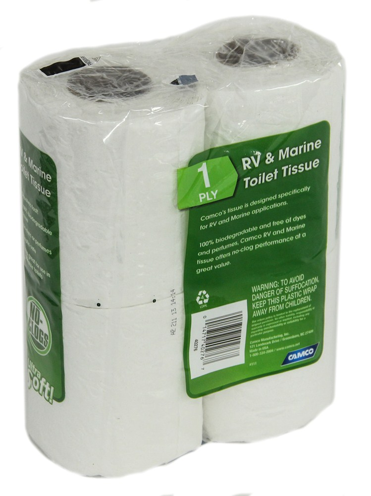 Camco Rv And Marine Septic Safe Toilet Tissue 1 Ply