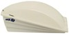 Camco Aero-Flo RV Roof Vent Cover w/ Swing Open Lid - White Vent Cover CAM40421