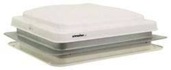 "Camco RV or Trailer Roof Vent - Manual - 14"" x 14"" - White"