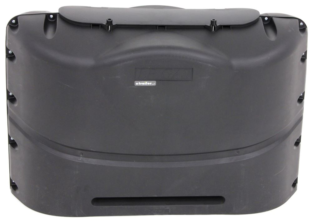 Camco RV Polyethylene Propane Tank Cover for (2) 20-lb Steel Tanks - Black Black CAM40521