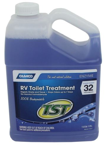 Tst Blue Enzyme Rv Septic System Liquid Treatment Clean