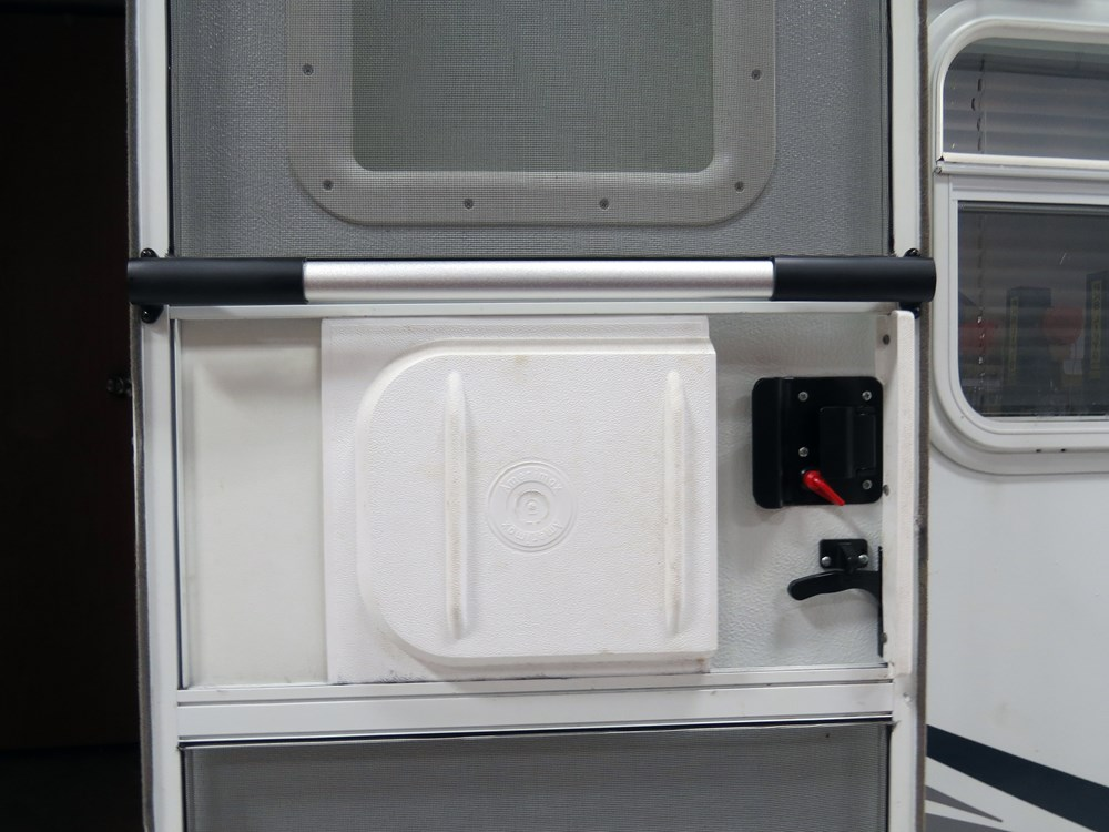 Camco Rv Adjustable Screen Door Cross Bar Aluminum W