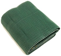 Camco Reversible RV Leisure Mat w/ Stakes - 12' Long x 9' Wide - Green