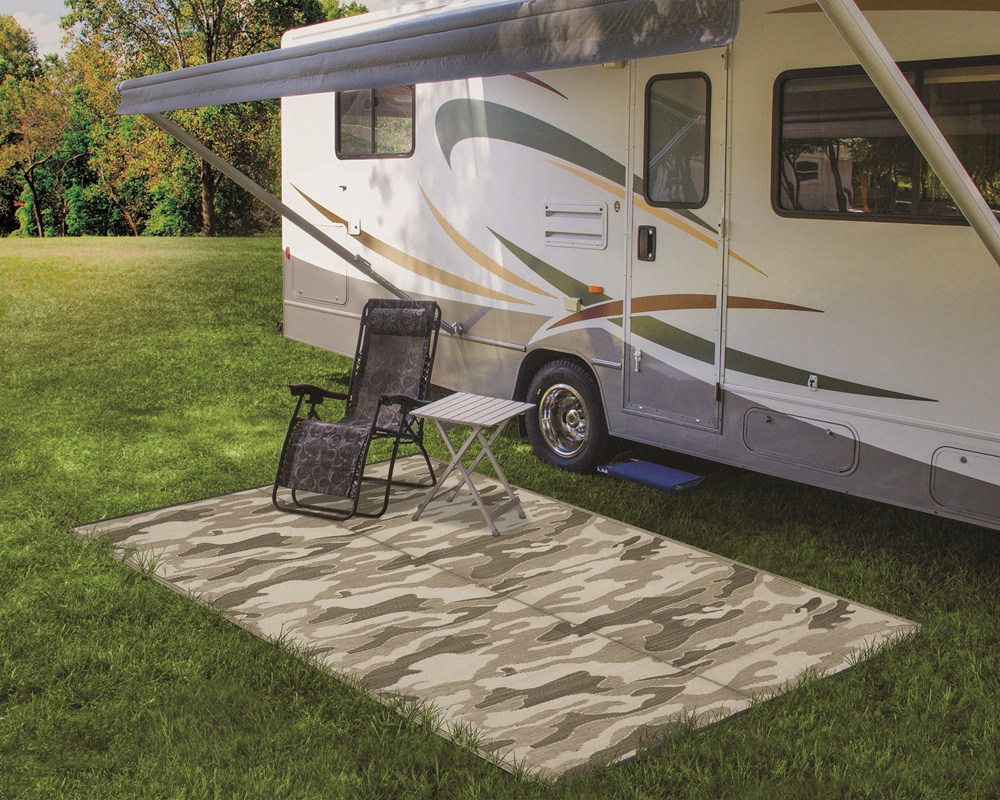Camco Reversible RV Leisure Mat - 12' Long x 9' Wide ...
