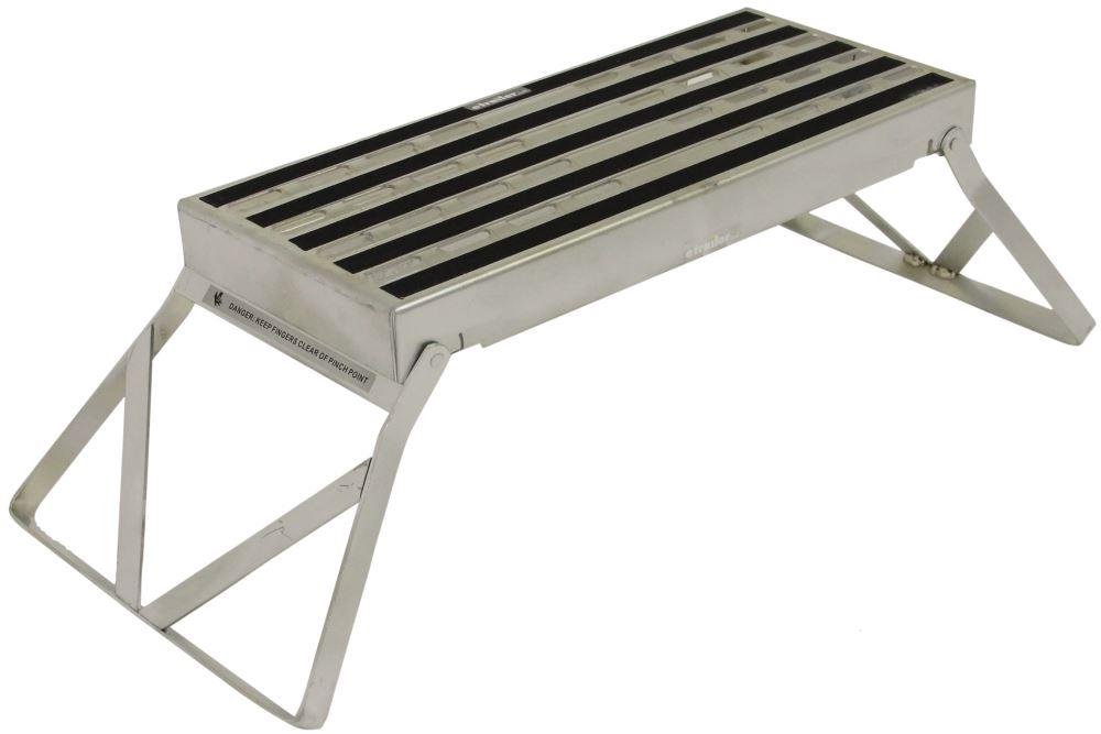 Phenomenal Camco Folding Step Stool Steel 19 Long X 8 Wide X 9 3 Alphanode Cool Chair Designs And Ideas Alphanodeonline