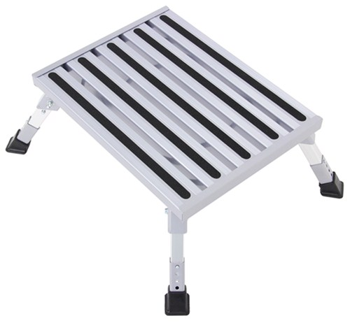 Camco Adjustable Height Platform Step Aluminum 19
