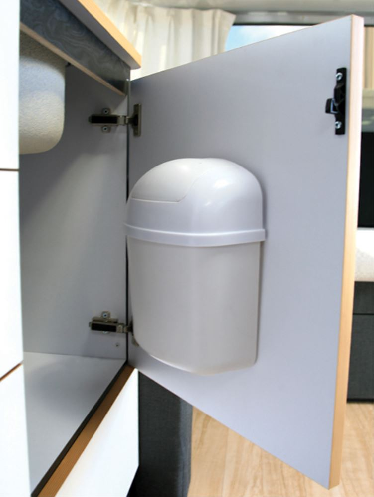 retail kitchen cabinets camco wall mount trash can camco rv kitchen cam43961 1924