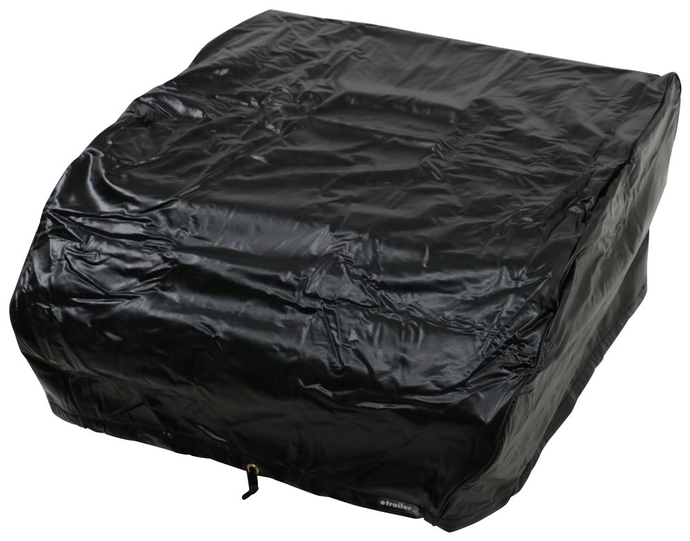 Camco Vinyl RV Air Conditioner Cover for DuoTherm Brisk II Models - Black Black CAM45269