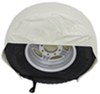 """Camco Vinyl Tire Covers - 30""""-32"""" - Qty 2 - Colonial White White CAM45333"""