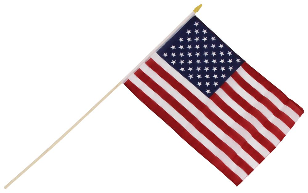 "Camco U.S. Flag - 18"" Long x 12"" Wide CAM45491"