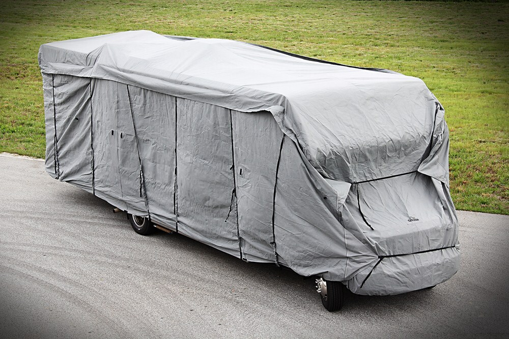 Camco Ultraguard Class C Travel Trailer Cover 22 Long