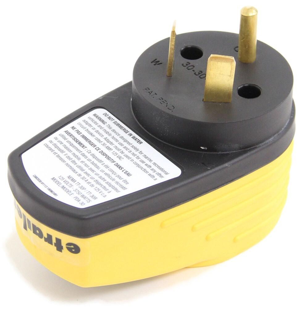 camco rv power defender voltage analyzer - 125v