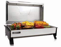 Camco RV Olympian 3500-C Stainless Steel Grill - Electric