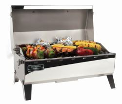 Camco RV Olympian 4500 Stainless Steel Grill - LP Gas