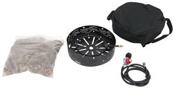 Camco RV Portable Propane Campfire w/ Storage Bag, Regulator, and 8' Long Hose