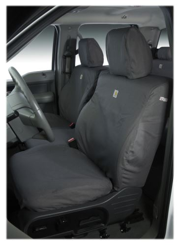 Covercraft Carhartt Seatsaver Custom Seat Covers Front Gravel Ssc2504cagy