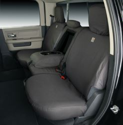 Covercraft Carhartt SeatSaver Custom Seat Covers - Second Row - Gravel