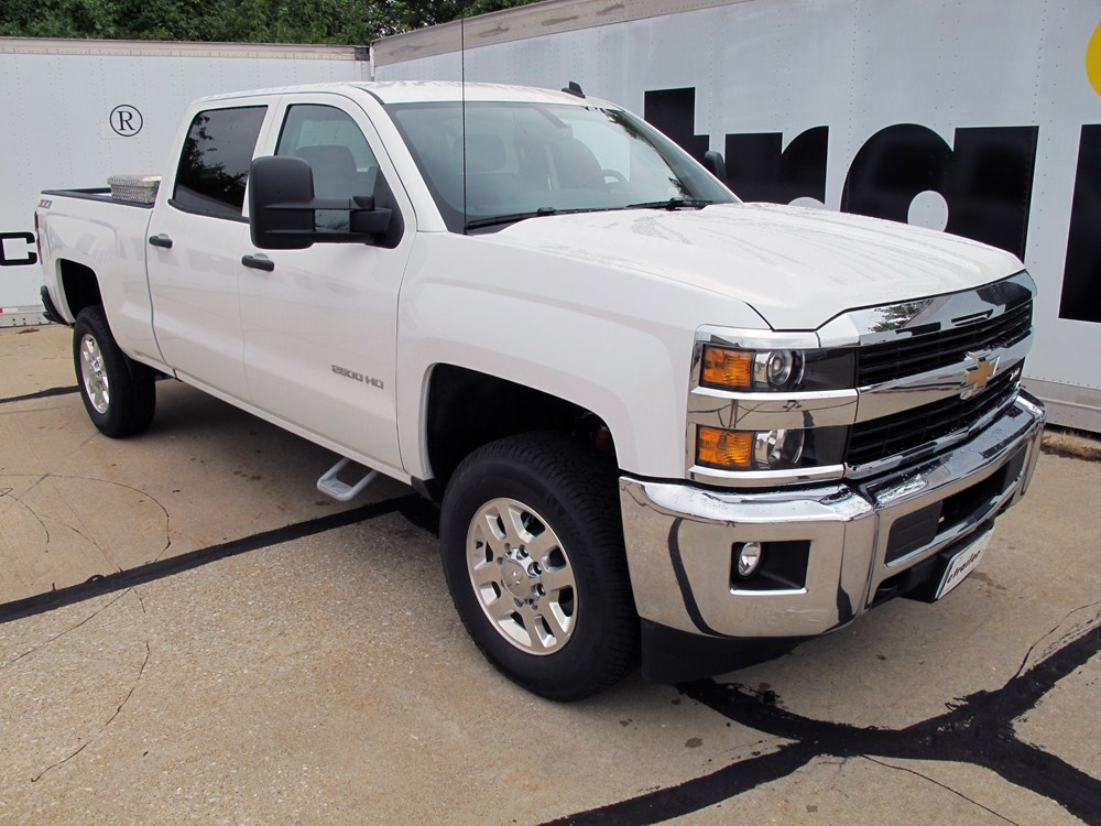 running steps boards carr step silverado hoop bars nerf chevrolet 2500 custom side aluminum coated powder pair ii silver cab