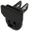 "Carr Hitch Mounted Step for 2"" Trailer Hitches - Black Powder Coat Aluminum - Black"