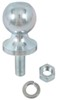 "1-7/8"" Hitch Ball - 5/8"" Diameter x 1-5/8"" Long Shank - Zinc - 2,000 lbs 2000 lbs GTW,Class I,Class II CB10Z"