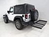 Stromberg Carlson Hitch Cargo Carrier - CC-100 on 2014 Jeep Wrangler