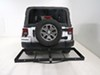 Stromberg Carlson Heavy Duty Hitch Cargo Carrier - CC-100 on 2014 Jeep Wrangler