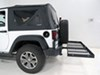 Hitch Cargo Carrier CC-100 - Fixed Carrier - Stromberg Carlson on 2014 Jeep Wrangler
