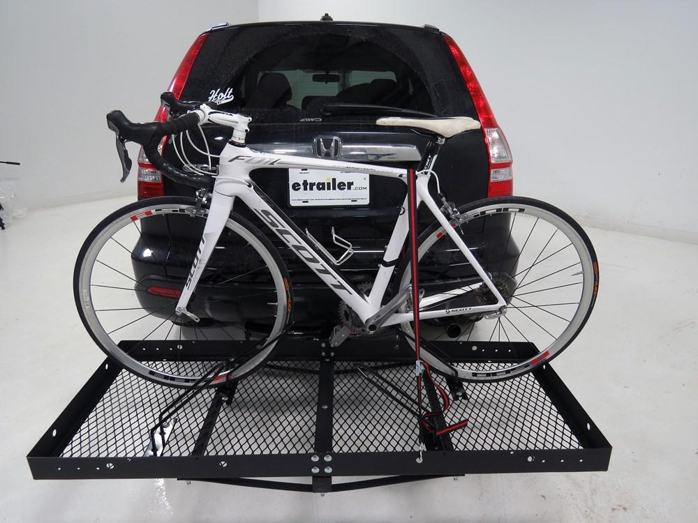 Bike Cargo Carrier : Bike rack adapter for stromberg carlson hitch mounted