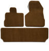 Covercraft Premier Custom Auto Floor Mats - Carpeted - Front and Rear - Caramel Flat CC76340522