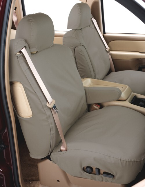 Covercraft SeatSaver Custom Seat Covers - Front - Misty Gray Custom Fit SS3441PCCT