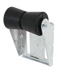 CE Smith Deep V Keel Roller Assembly for Boat Trailers - Galvanized Steel/Black Rubber - 5""