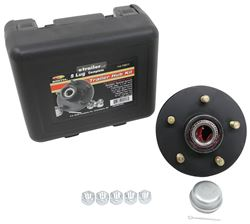 CE Smith Trailer Hub Assembly w/ Carrying Case for 3,500-lb Axles - 5 on 4-1/2 - Pre-Greased - CE13511