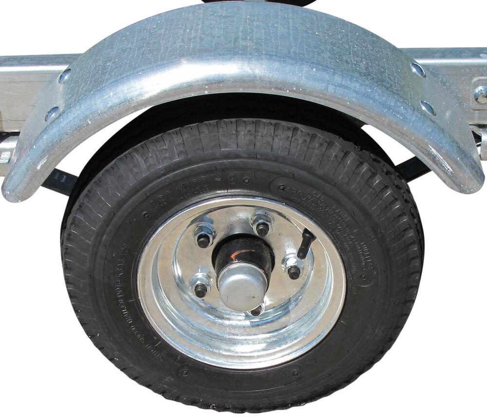 Wheel Trailer Axles : Ce smith single axle trailer fender pre galvanized steel