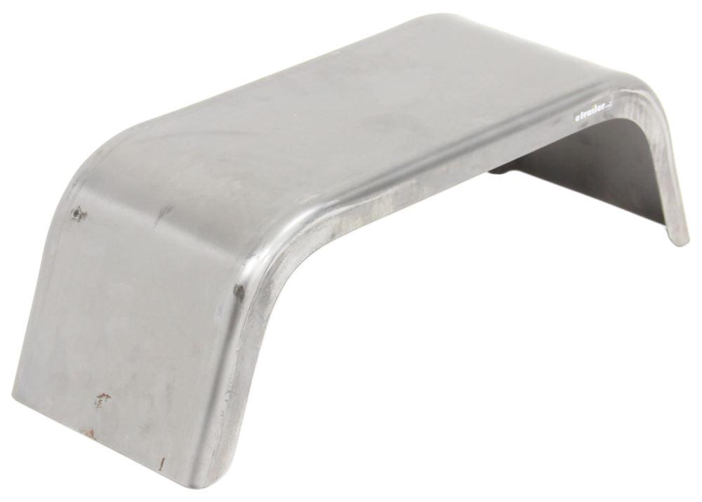 Cargo Trailer Fenders : Single axle trailer fender jeep style gauge steel