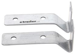 "Mounting Brackets for Trailer Fender - 8"" to 12"" Wheels - Pre-Galvanized Steel - Qty 2"