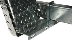 "CE Smith Galvanized Steel Step for 2"" Trailer Frame - 15-1/4"" Long x 3"" Wide"
