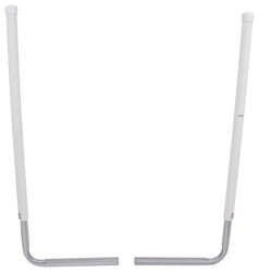 "CE Smith Post-Style Guide-Ons for Boat Trailers - 60"" Tall - White - 1 Pair"