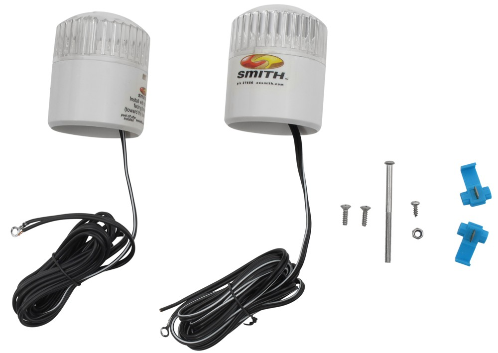 Boat Light Parts : Led light kit for post style boat guide ons ce smith