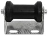 "CE Smith Offset Spool Roller Assembly for Boat Trailers - Galvanized Steel w/ Black Rubber - 5"" Black Rubber CE32150G"