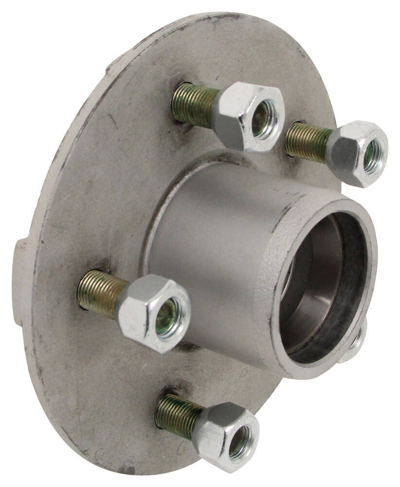 Trailer Hubs And Spindles : Ce smith trailer axle w idler hubs ez lube spindles