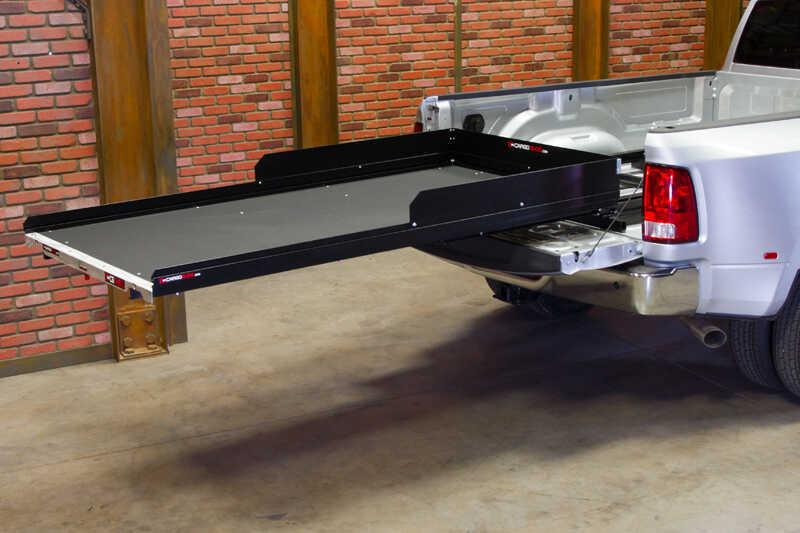 cargoglide 1500xl sliding tray for trucks - heavy duty - 1,500 lbs