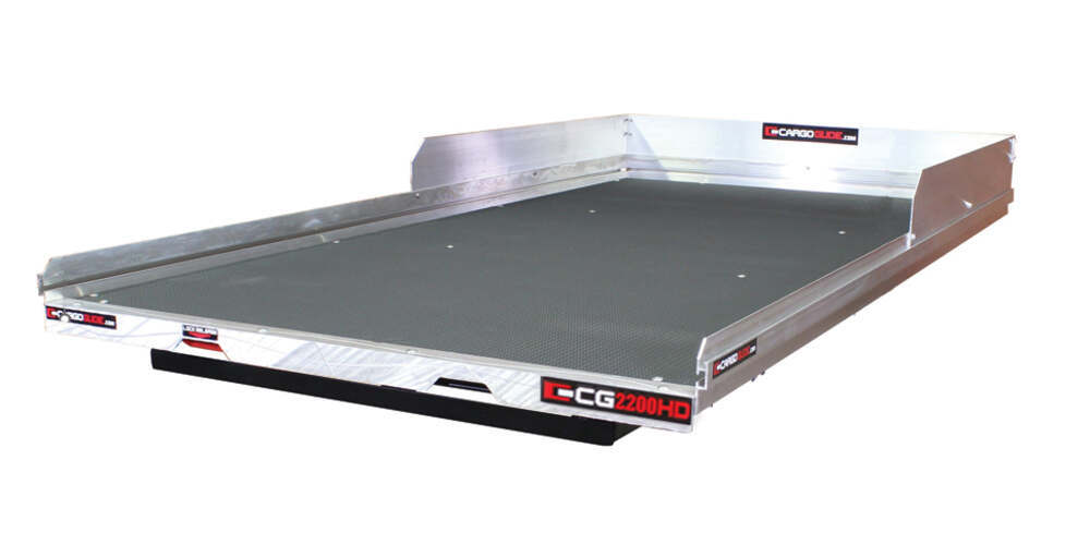 CG2200HD-7548 - 2200 lbs CargoGlide Slide Out Cargo Trays