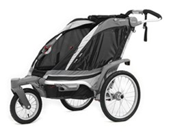Thule Chinook Stroller and Jogger with Accessories - 1 Child - Black