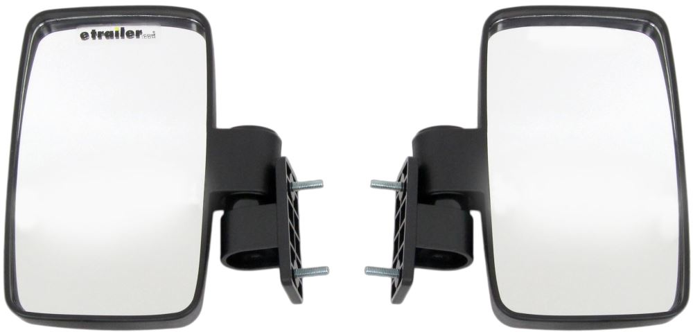 "CIPA Adjustable Side Mirrors for UTVs - 7-11/16"" x 4-5/8"" - Round Clamp - 1 Pair Roll Cage Mount CM01139"