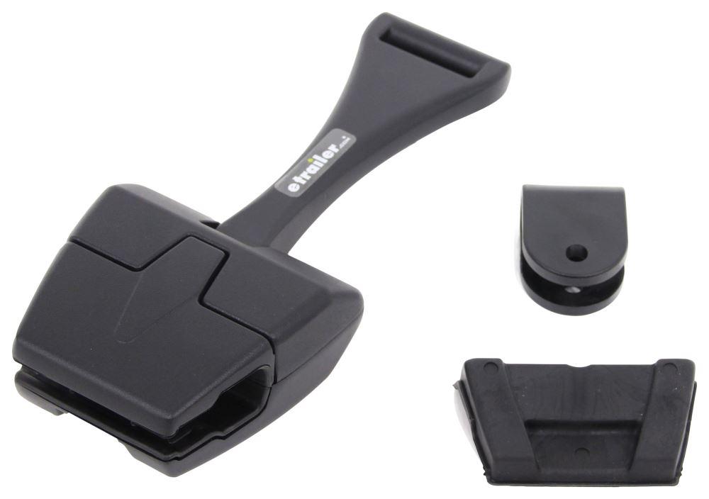 CIPA Mirror Bracket for Boat Windshield - Clamp On - U-Clamp Mirror Mount - Black Hardware CM02330