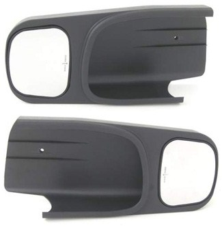 CIPA Custom Towing Mirrors - Slip On - Driver Side and Passenger Side Pair of Mirrors CM10700