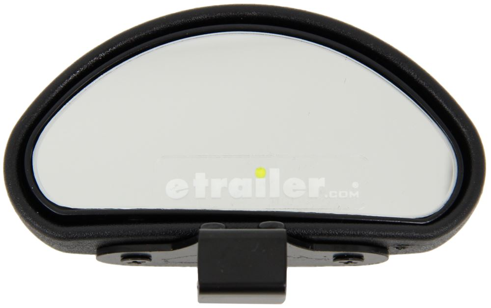 """2 PC 2 3//8 /"""" X 3 3//4 /"""" Rectangle Wedge Blind Spot Mirror Wide Angle Convex"""