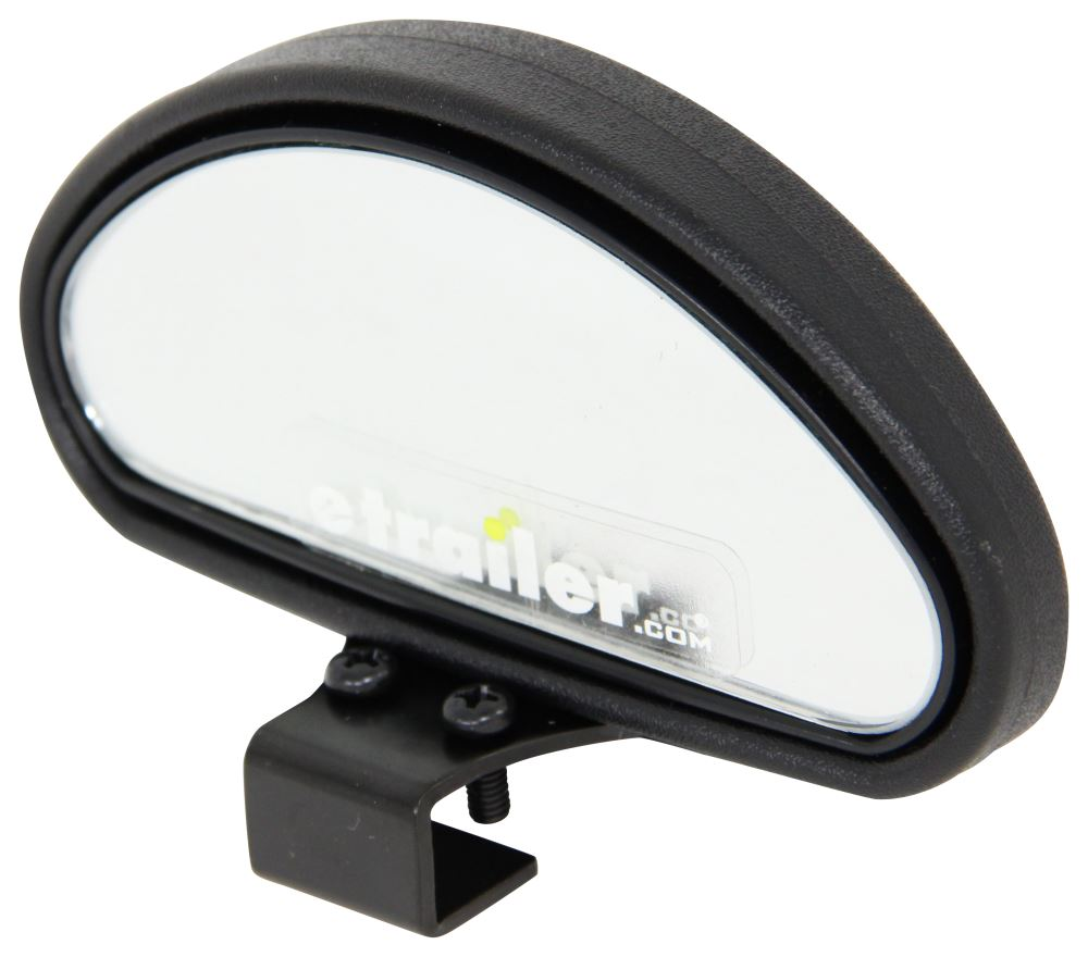 Cipa Top Mounted Blind Spot Mirror Convex Clamp On 4