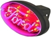 Ford - Brake and Tail Light L.E.D. Trailer Hitch Cover lit up